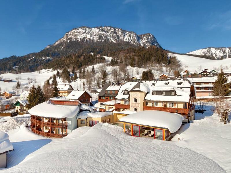 Winterplaatje Hotel Der Hechl