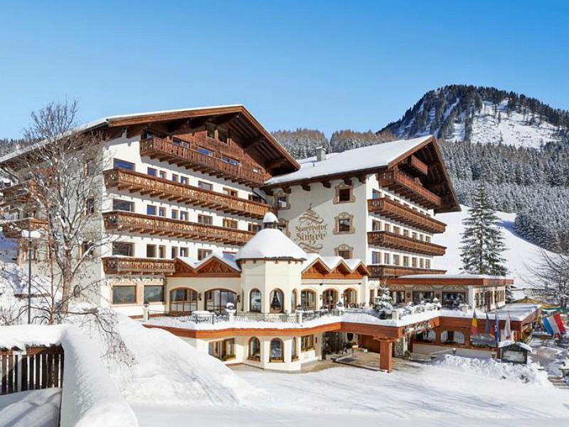 Hotel Singer in de winter