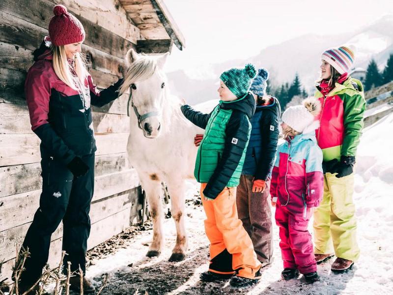 Miniboerderij bij Kinderhotel Stegerhof