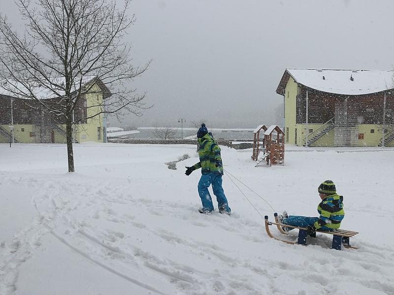 Een vers pak sneeuw!