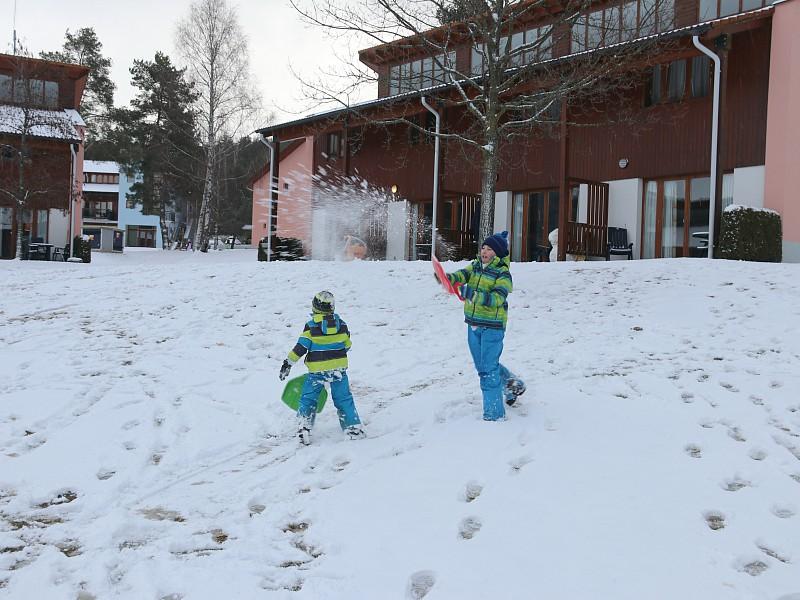 Sneeuwpret voor de deur!