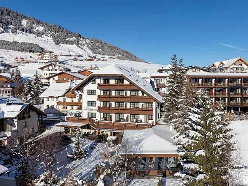 Kindvriendelijk hotel Chesa Monte in Serfaus - Fiss - Ladis in de sneeuw