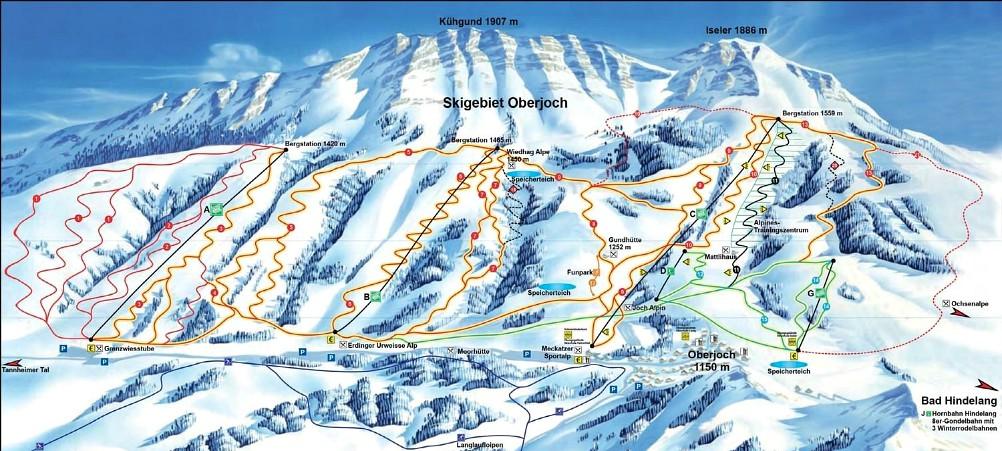 skigebied Oberjoch