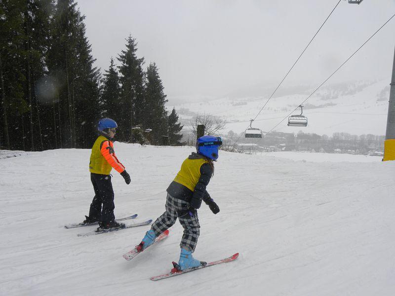 kinderen skien in Willingen