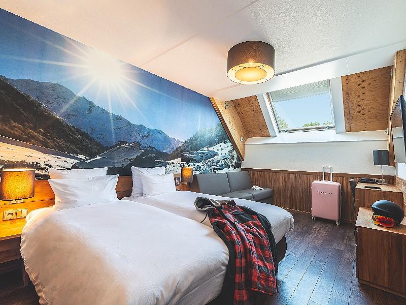 Het unieke Alpine Hotel van SnowWorld Landgraaf